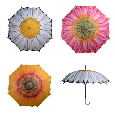 Flower printed automatic Umbrella