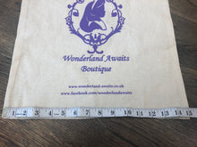 Load image into Gallery viewer, Wonderland Awaits 100% Cotton Reusable Tote