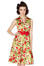 Load image into Gallery viewer, Keira Apple Print Dress
