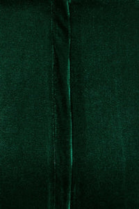 Andromeda Emerald green velvet pencil Dress.