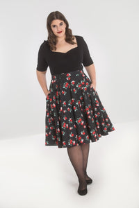 Apple Blossom 50's full circle skirt SALE WAS £34 NOW £19