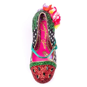 Irregular Choice Crimson Sweet Black WAS £109 NOW £75