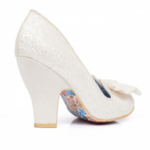 Irregular Choice White/Ivory Nick of Time