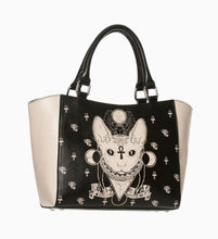Load image into Gallery viewer, Bastet Occult Cat Tote Bag Small