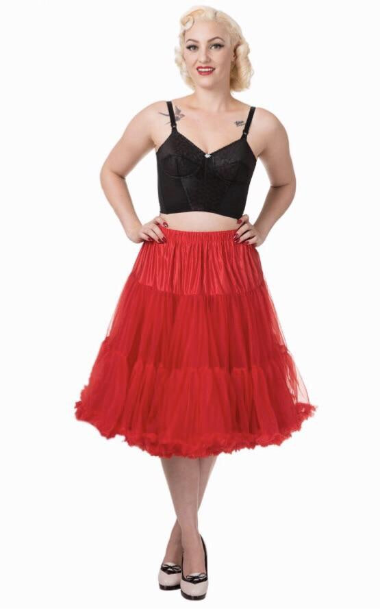 Full Dancing Petticoat Red
