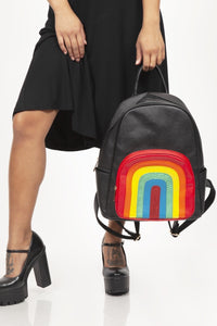 Rainbow Pocket Backpack