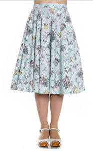 Bunny 50s Circle Skirt SALE WAS £34 NOW £10