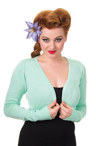 Flickers Long Sleeve Bolero Mint