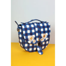 Load image into Gallery viewer, Lydia Gingham Daisy Bag