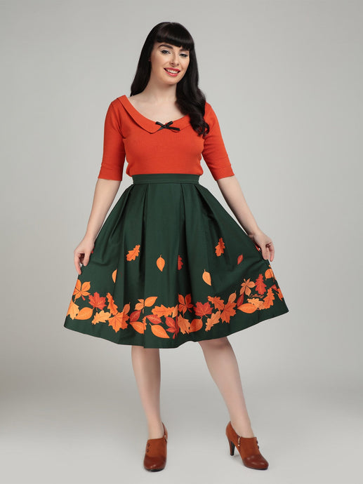 Marilu Autumn leaves Skirt WAS £45 NOW £35