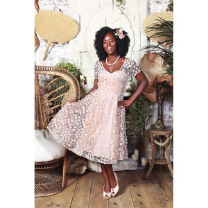 Nina Blossom Occasion Swing Dress