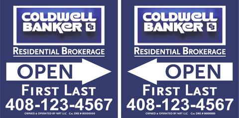 Coldwell Banker 24x24 A-Frame