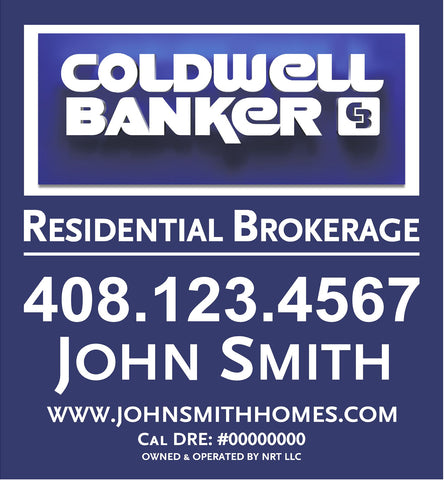 Coldwell Banker 26x24 Inch Sign Panel