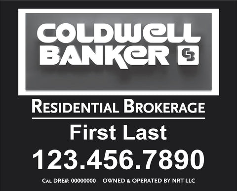12x15 Coldwell Banker Hillsborough Sign