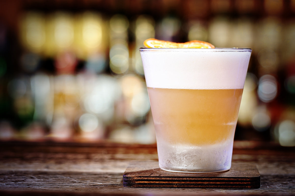 Gin Sour Zesty Citrus and Lush