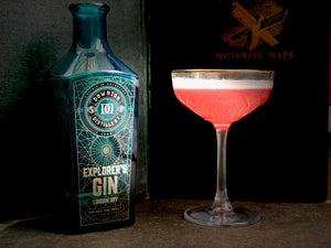 Campari Sour with Explorer's Gin, Wiltshire