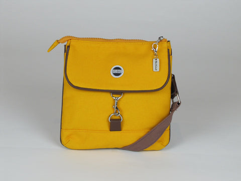 Yellow crossbody purse