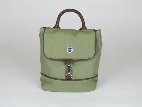 Olive Backpack Purse