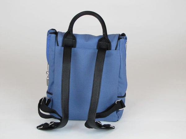 Blue Backpack Purse