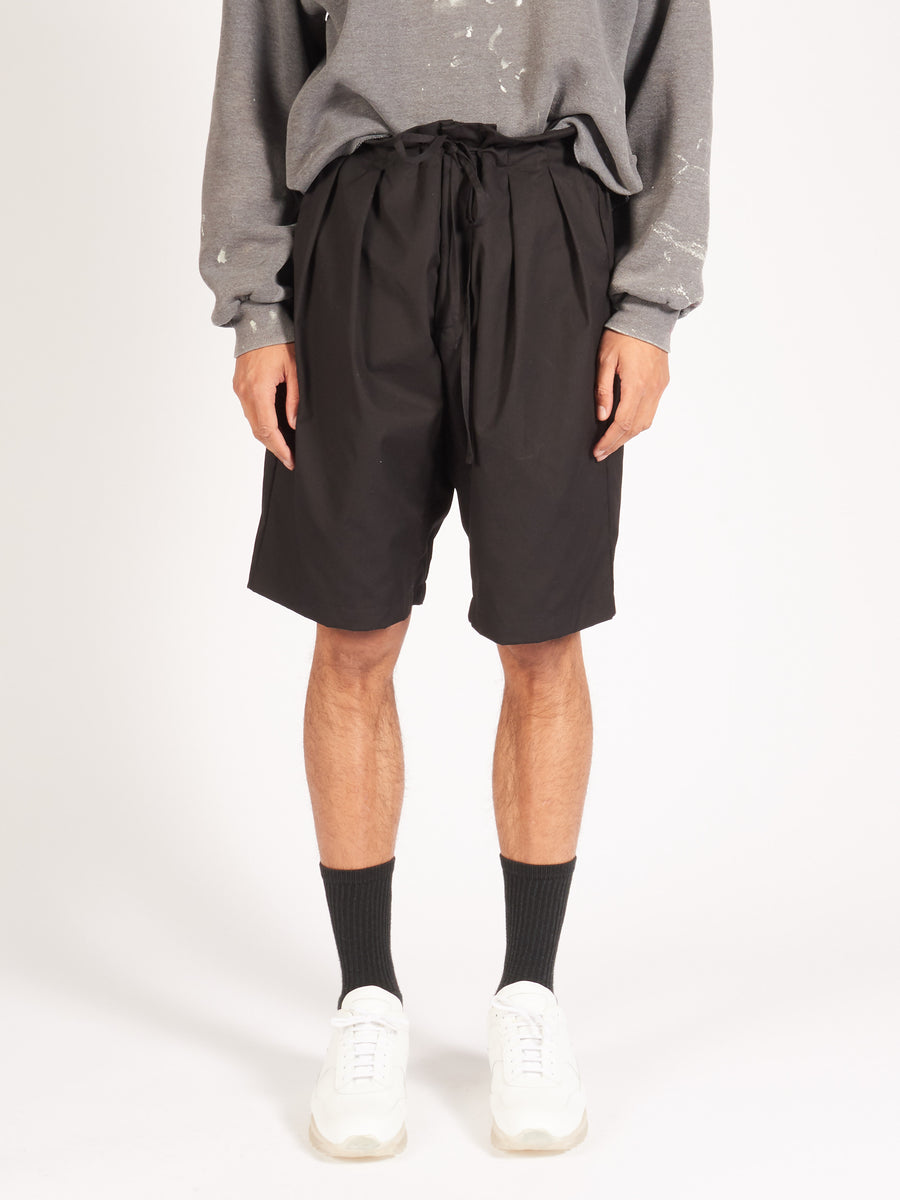 monitaly-Oxford-Black-Drop-Crotch-Shorts