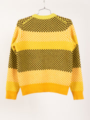 Soft Yellow/Sharp Yellow Kai Stripe Sweater