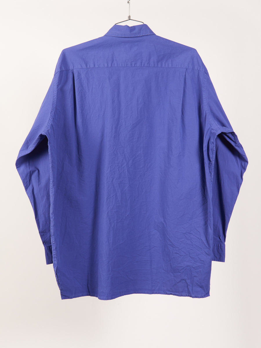Deep Blue Atlent Wash Shirt