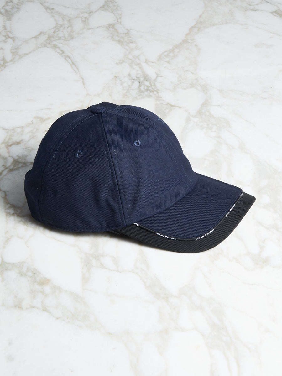 Navy/Black Baseball Cap