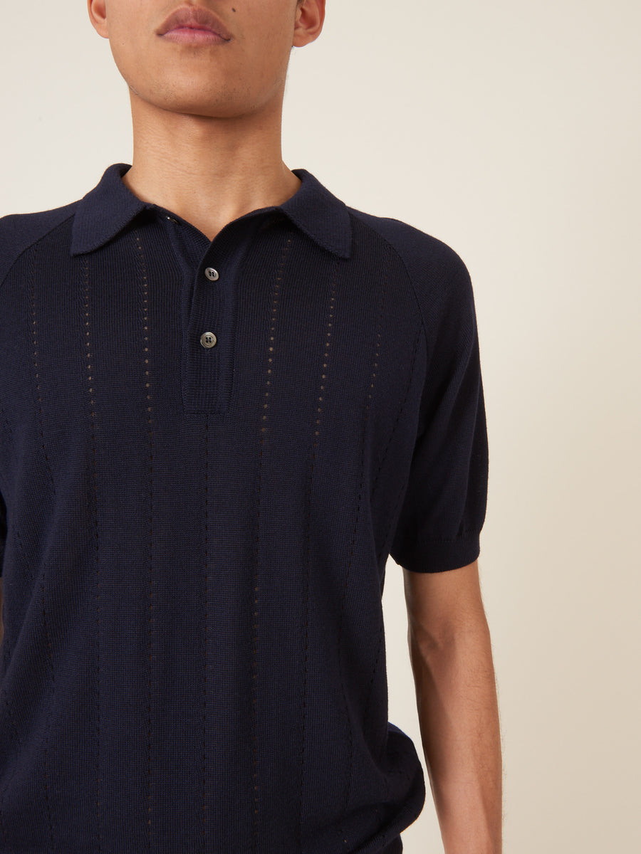 a-kind-of-guise-Navy-Baccara-Knit-Polo-on-body
