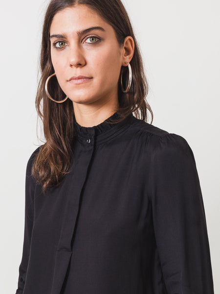 Black Evren Blouse