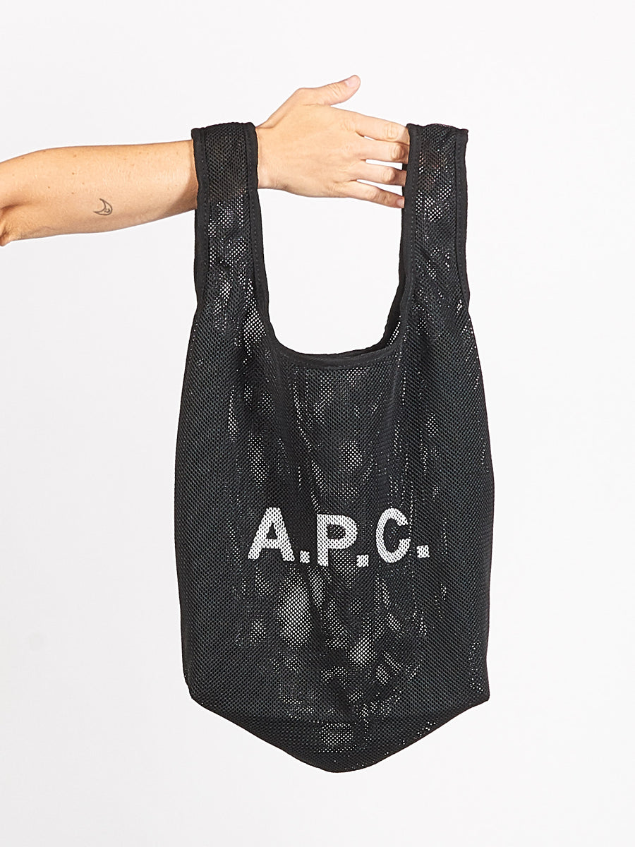 Black Rebound Shopping Bag