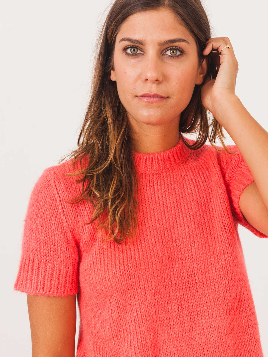 a.p.c.-bright-pink-dorothee-sweater-on-body