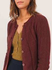a.p.c.-burgundy-narita-cardigan-on-body