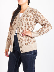 Frosted Chestnut Brown Erika Cardigan