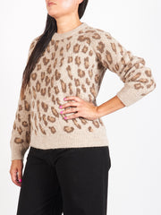 Frosted Chestnut Brown Esther Sweater