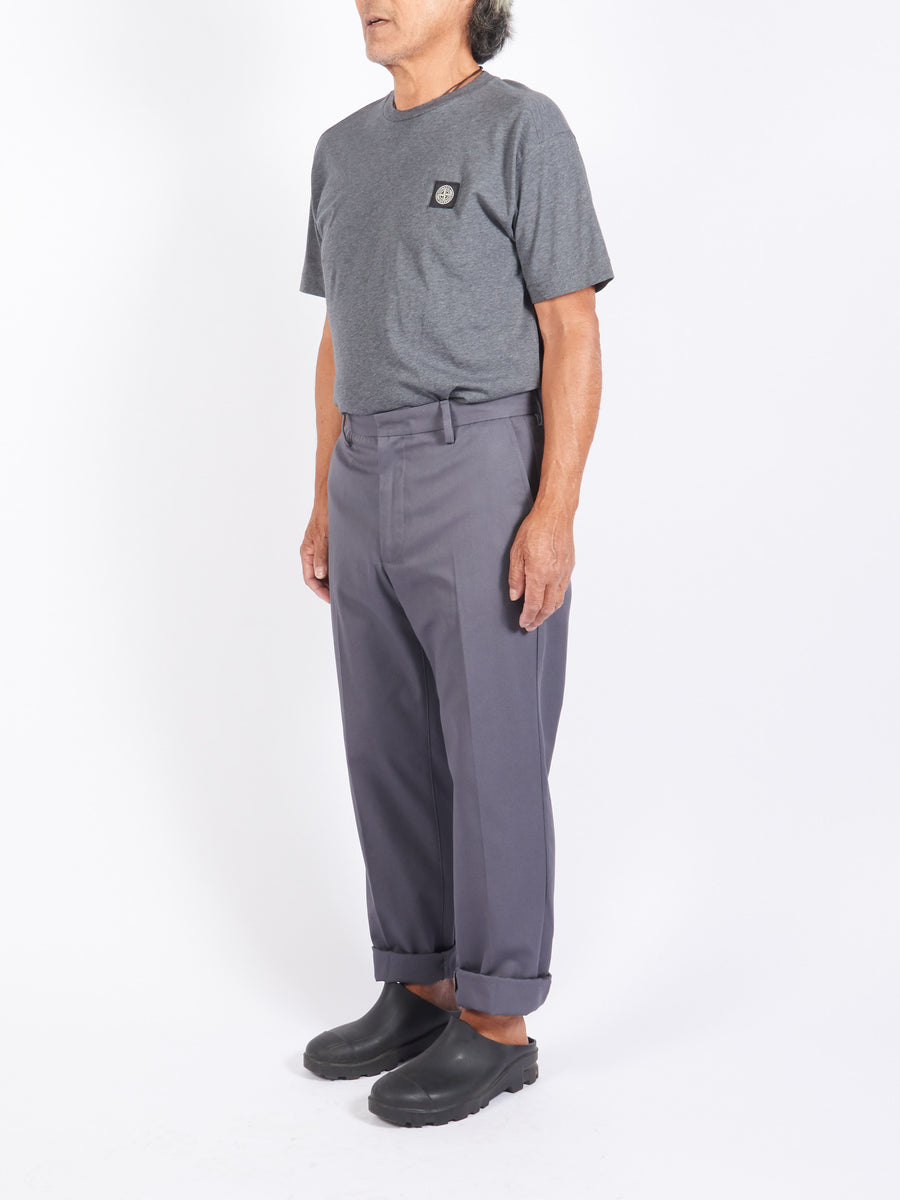 Grey Twill Trousers