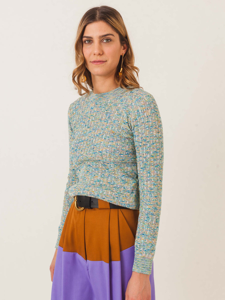 apc-multicolored-scarlett-sweater-on-body