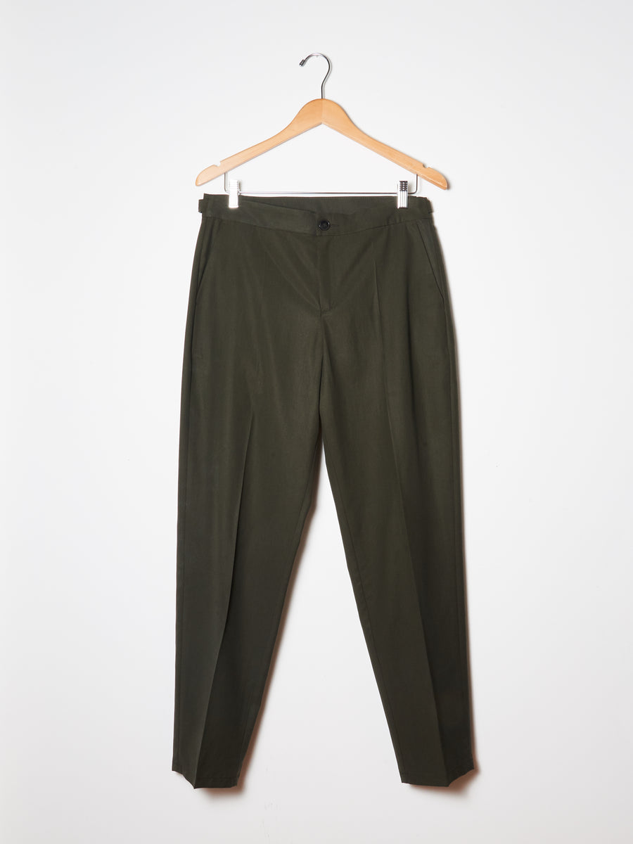 Misty Moss Pencil Pants