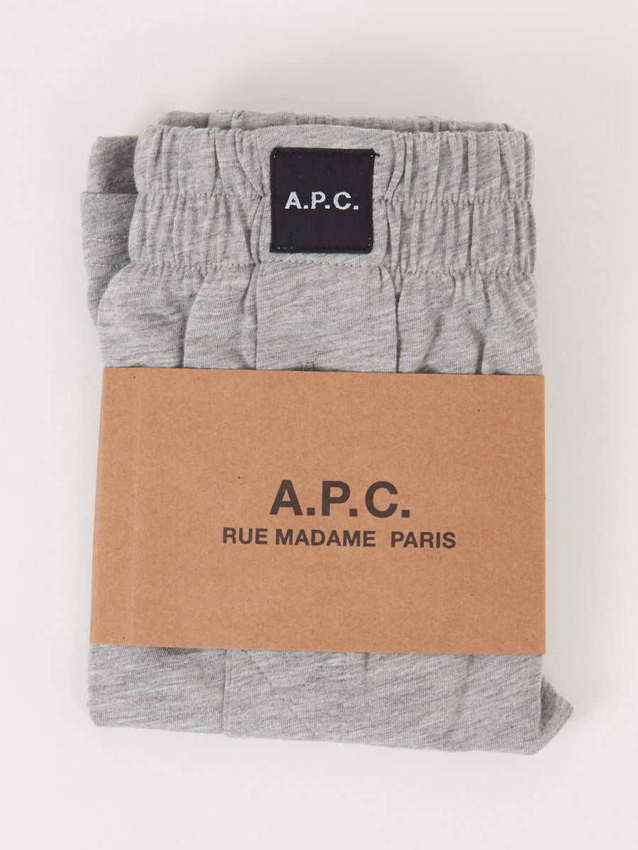 A.P.C.-Grey-Cabourg-Boxer-Shorts
