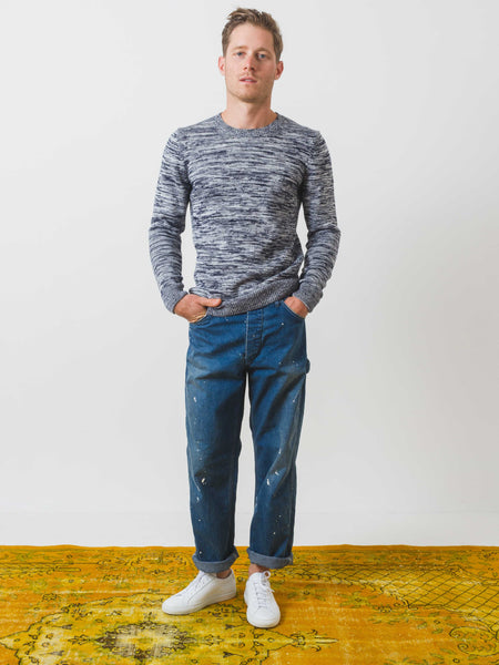 Dark Navy Soto Sweater