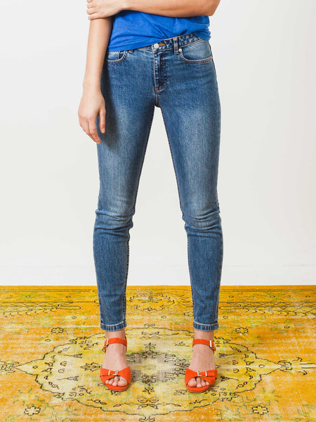 Washed Indigo High Standard Jean