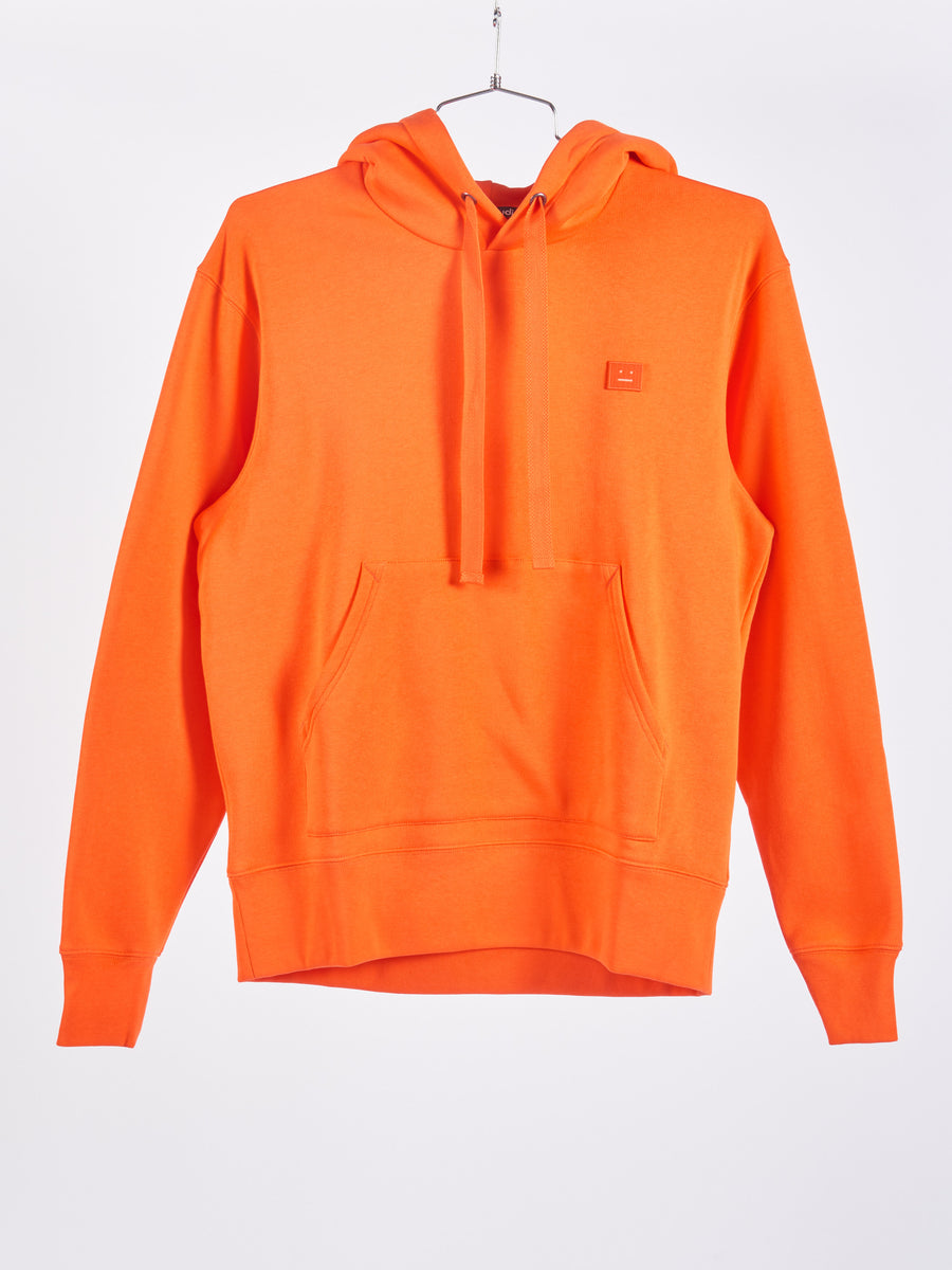 Dark Orange Ferris Face Hooded Sweatshirt