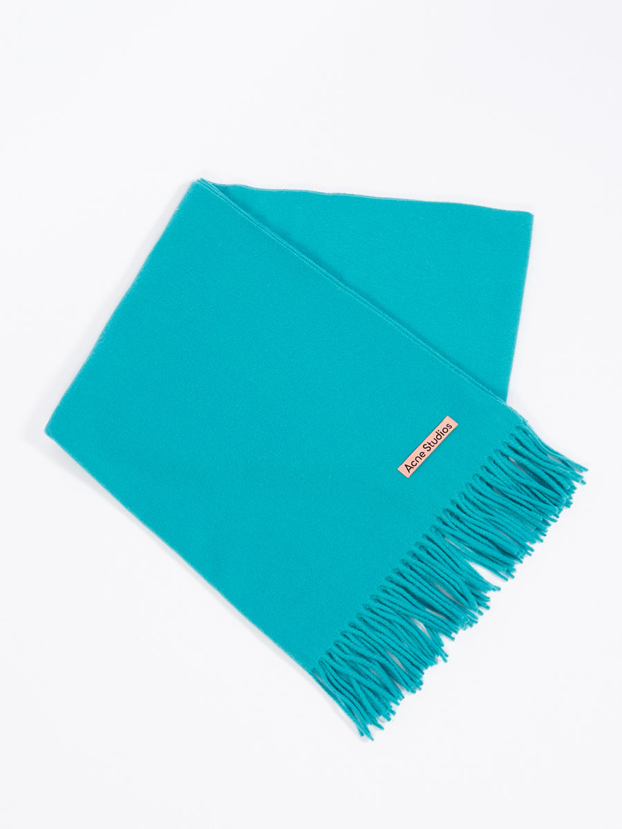 Teal Blue Canada New Scarf