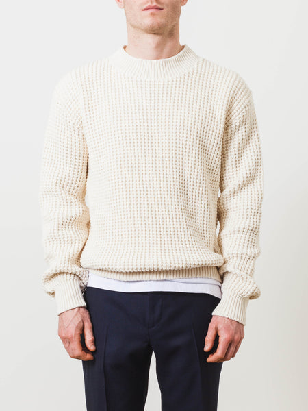aime-leon-dore-eco-waffle-knit-mock-neck-sweater-ivory-on-body
