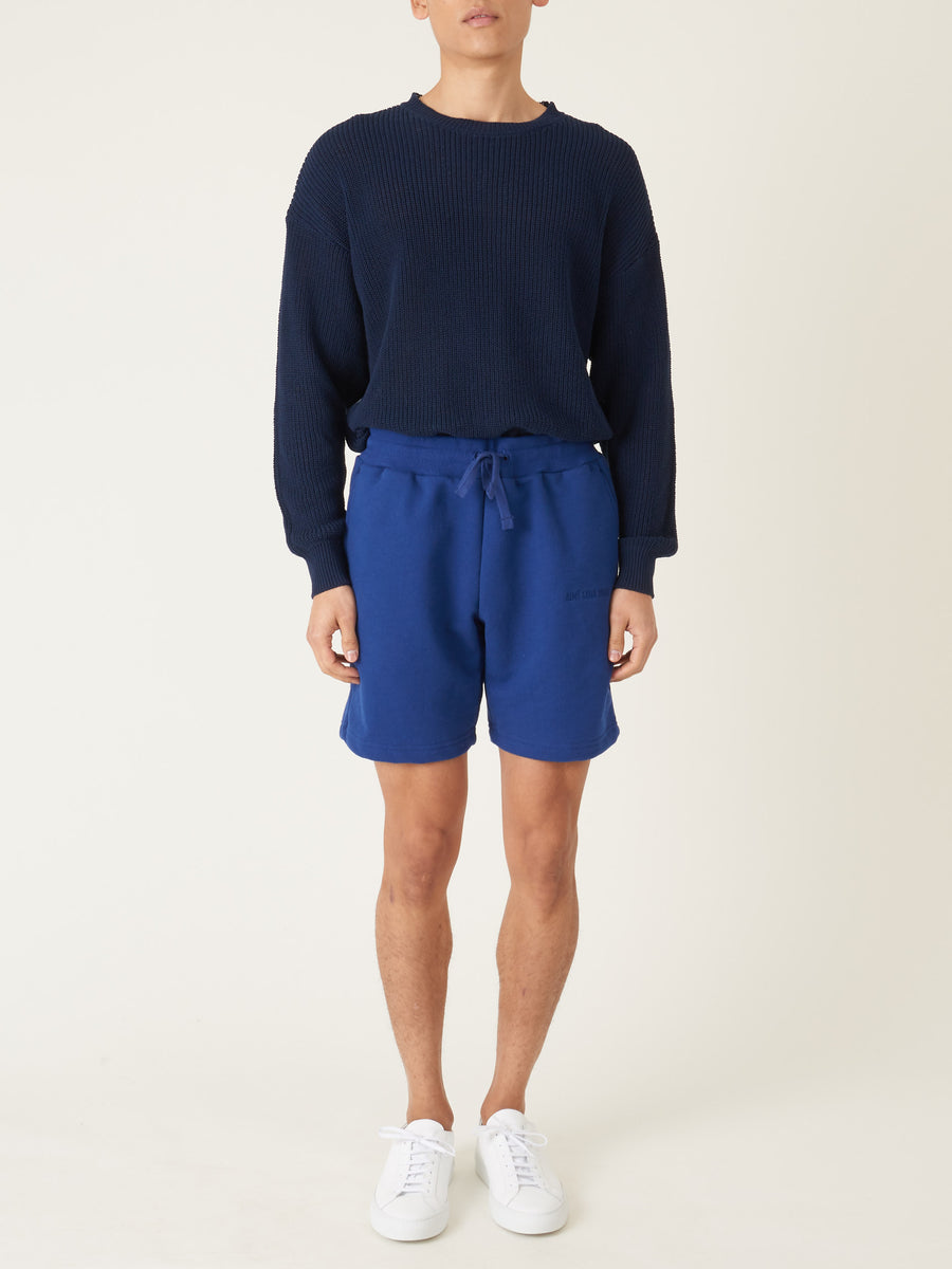 Aimé-Leon-Dore-Midnight-French-Terry-Shorts-on-body