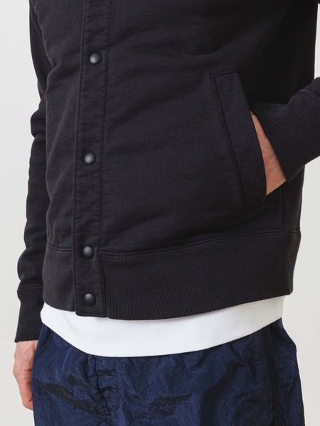 Anthracite Terry Bomber