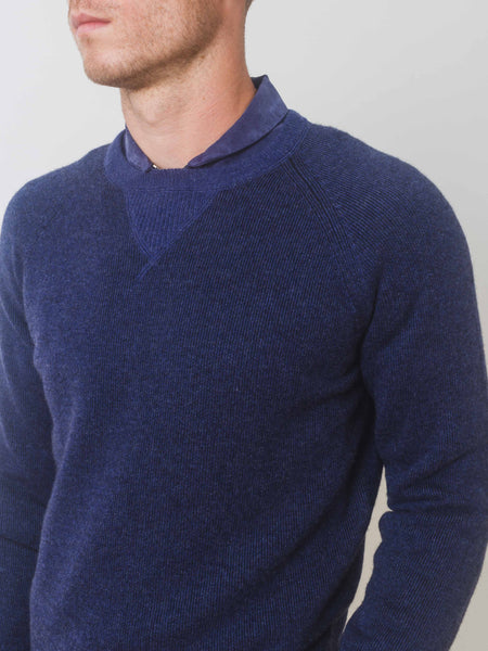 Cashmere French Terry Crewneck