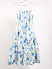 White Poppy Aster Dress