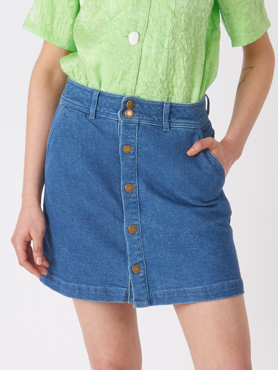 Apiece-Apart-Chloe-Denim-Skirt-on-body
