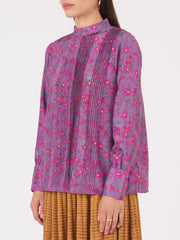 Apiece-Apart-Purple-Sez-Pintuck-Blouse-on-body