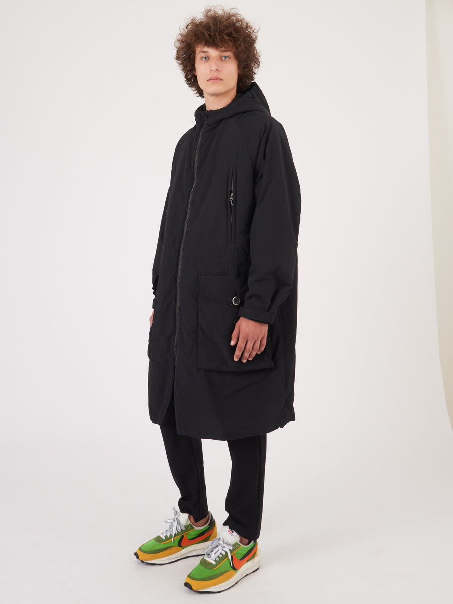 Barena-Venezia-Nero-Tormenta-Coat-on-body